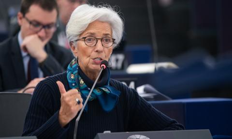 Szefowa EBC: Gospodarka eurolandu nadal wymaga wsparcia ze względu na skutki pandemii