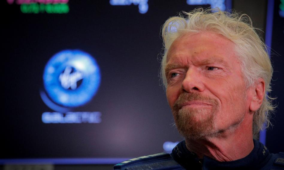 Branson chce wyprzedzić Bezosa w kosmosie. Akcje Virgin Galactic mocno w górę