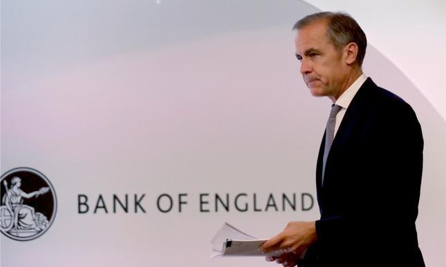 Szef Banku Anglii Mark Carney