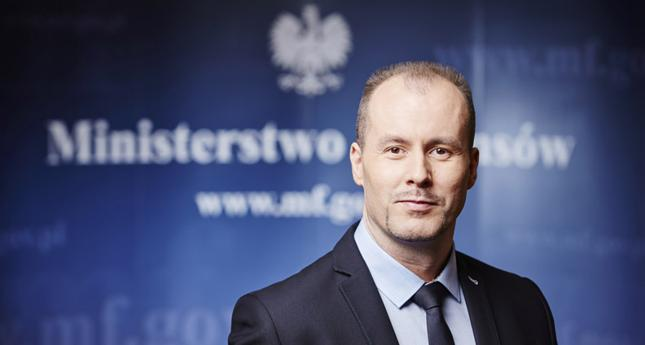 Wiceminister finansów Konrad Raczkowski