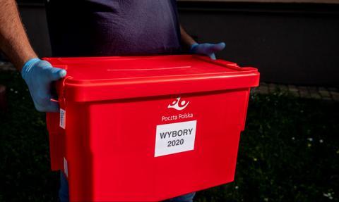 Poczta Polska dostanie 53,2 mln zł rekompensaty za wybory