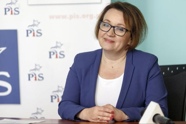 Minister edukacja Anna Zalewska
