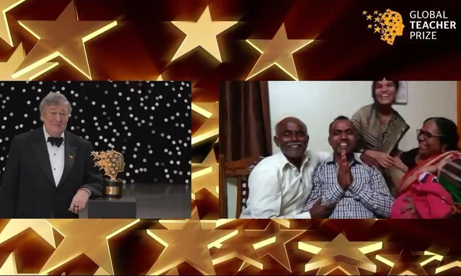 Nauczyciel z Indii wygrał 1 mln dolarów i podzielił się nagrodą