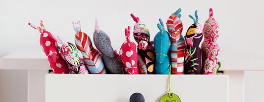 kobiecy pomysł na biznes: zabawki ze szmatek