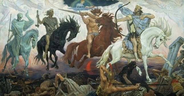 """""""Czterej Jeźdźcy Apokalipsy"""", Wiktor Wasniecow (1887)"""