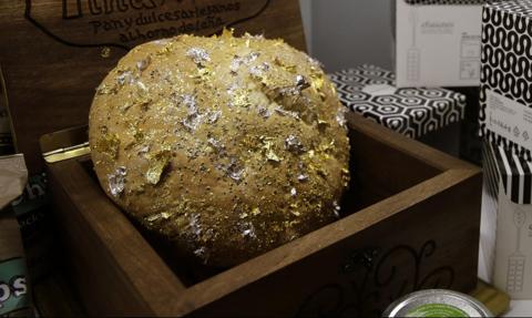 Najdroższy chleb świata wypiekany jest koło Malagi. Ma dodatek złota i srebra