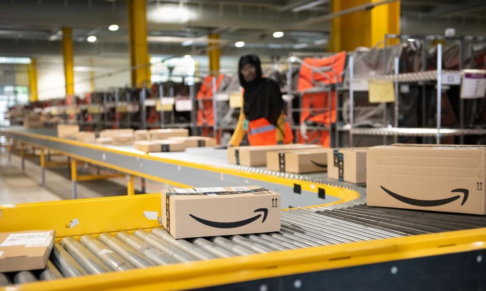 Strajk w niemieckim Amazonie