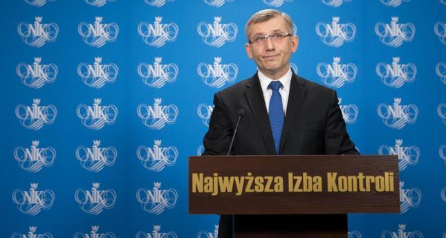 Katowice: prezes NIK przyjechał na przesłuchanie do prokuratury
