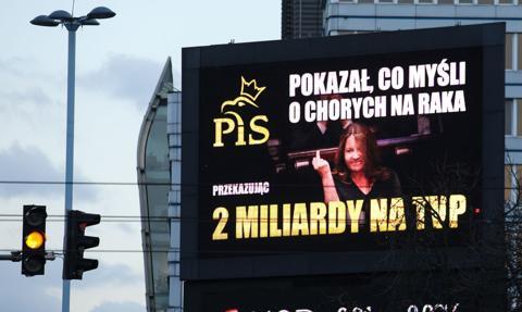 """""""Gest Lichockiej"""" na billboardach. Posłanka złożyła akt oskarżenia przeciwko autorom kampanii"""