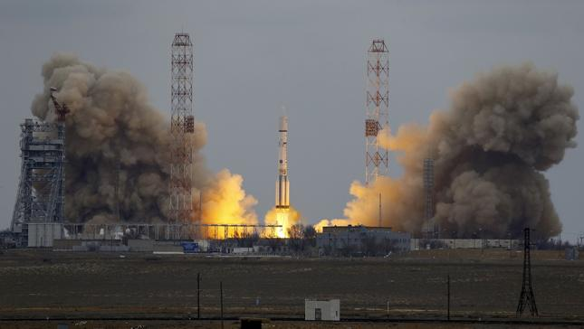 Wystrzelono sondę ExoMars, która będzie szukać życia na Marsie