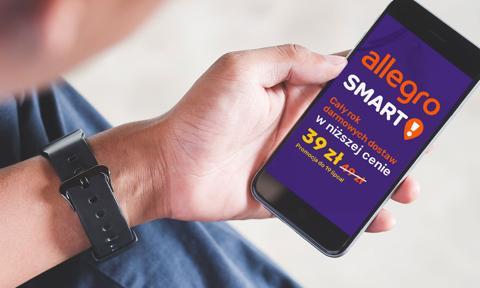 Allegro obniża cenę pakietu Smart