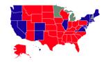 Gdzie wygrała Clinton, a gdzie Trump? [Mapa]