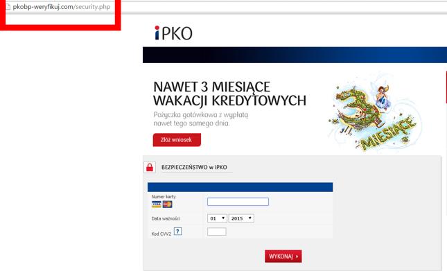 Zlodzieje Wyludzaja Numery Kart Od Klientow Pko Bp Bankier Pl