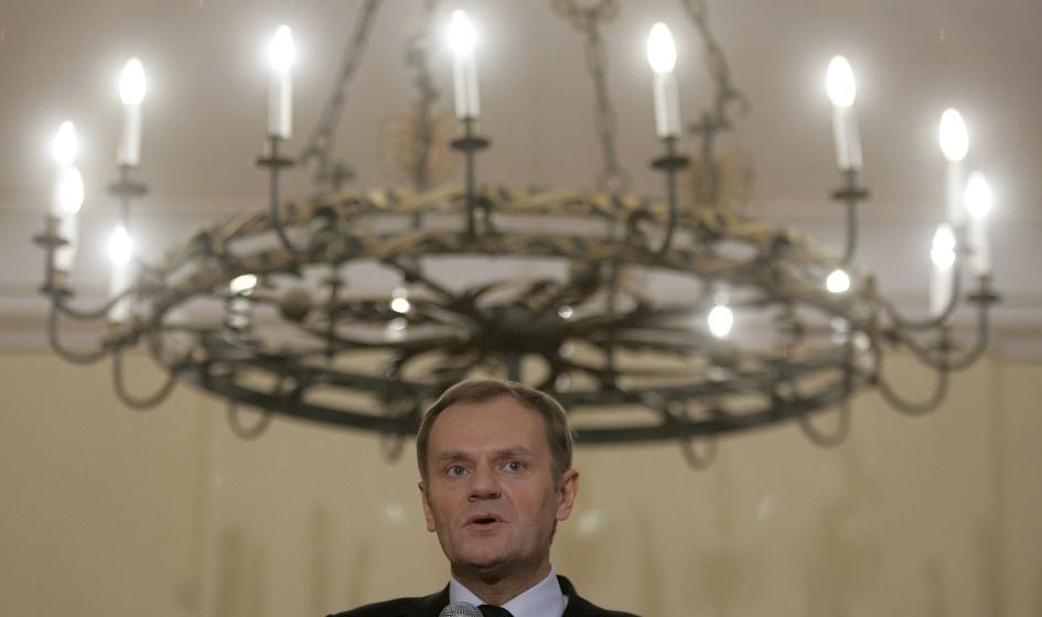 Tusk: Chcemy rozwiązać problem ratyfikacji umowy z Ukrainą w grudniu