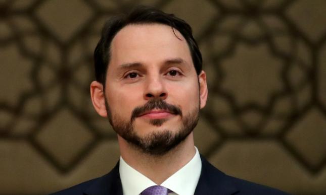 Minister finansów i skarbu Berat Albayra
