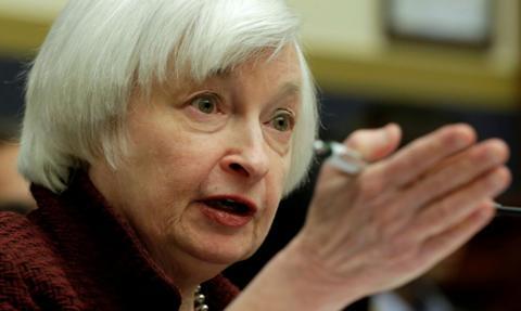 Yellen pociągnęła w górę nowojorskie giełdy