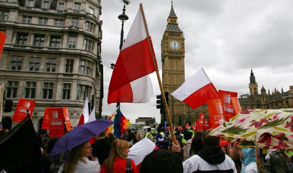 Zaskakująca liczba Polaków na Wyspach
