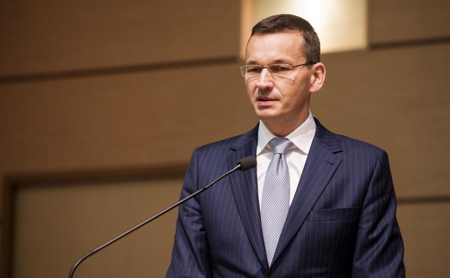 Minister finansów i rozwoju Mateusz Morawiecki