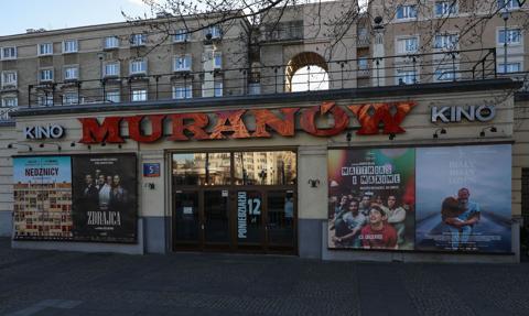 Warszawa: kina studyjne otwarte od 21 maja, multipleksy - w kolejnym tygodniu