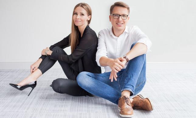 Monika Chwiedziewicz i Arkadiusz Zaremba