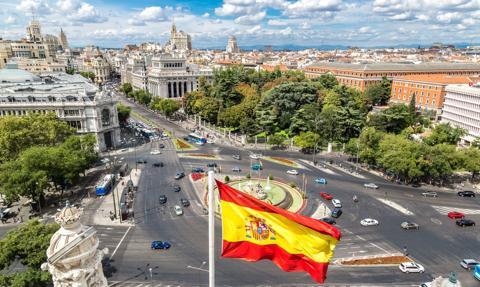 Silna eksplozja w centrum Madrytu