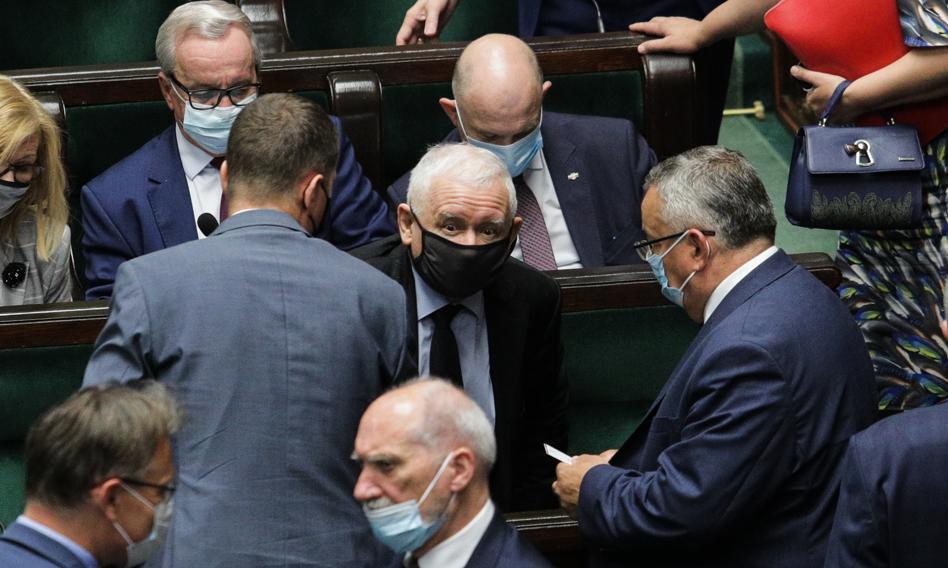 Jarosław Kaczyński ukarany przez komisję etyki