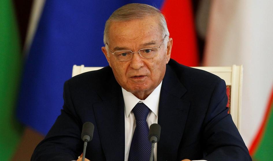 Uzbekistan: świąteczne orędzie Karimowa odczytał telewizyjny spiker