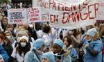 Francja: protesty pracowników szpitali, chcą