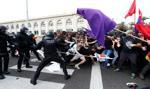 Ponad 100 aresztowań po starciach w Katalonii
