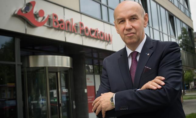 Sławomir Zawadzki, prezes Banku Pocztowego