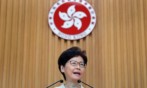Szefowa władz Hongkongu: planujemy wybory parlamentarne w grudniu