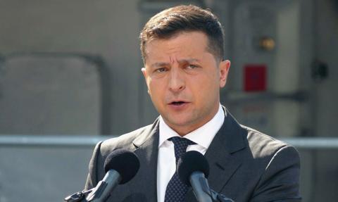 Zełenski wzywa USA, Wielką Brytanię i Kanadę do zaangażowania, by zakończyć wojnę w Donbasie