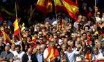 W Barcelonie demonstracja przeciwników secesji Katalonii