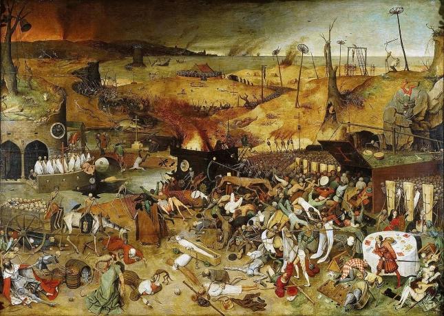 """""""Triumf Śmierci"""", Pieter Breughel starszy (1562)"""