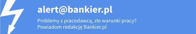 Jeśli wiesz o sprawie, którą powinna zająć się redakcja, napisz do nas na adres alert@bankier.pl