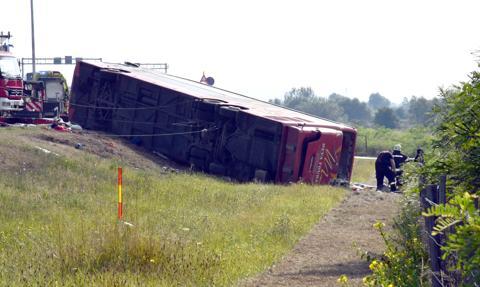 10 osób zginęło, a 40 odniosło rany w wypadku autokaru w Chorwacji