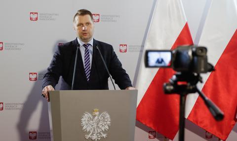 Czarnek: W Polsce nie ma miejsca dla nauczycieli, którzy dają zły przykład uczniom