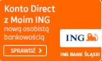 Konto Direct z Moim ING. Teraz + 100 zł