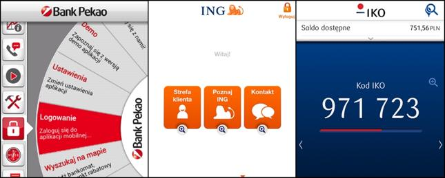 Coraz chętniej korzystamy z bankowych aplikacji na smartfony