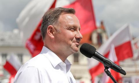 KO: zachodzi podejrzenie, że kampania Andrzeja Dudy była finansowana z lewych pieniędzy