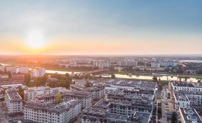 Na osiedlu Promenady Wrocławskie docelowo powstanie 2200 mieszkań.