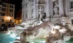 Włochy: 1,4 mln euro wyłowiono w zeszłym roku z Fontanny di Trevi