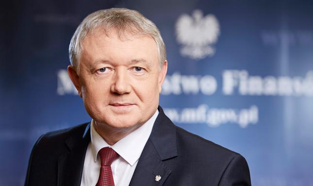 Wiceminister finansów Wiesław Janczyk