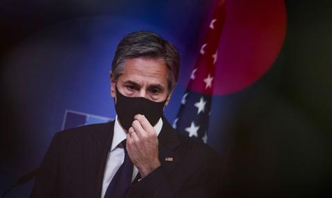 Blinken: NS2 to rosyjski projekt geopolityczny, który zagraża bezpieczeństwu Ukrainy