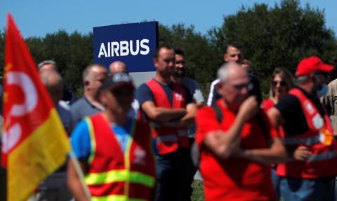 Protesty francuskich pracowników Airbusa, Nokii i Sanofi przeciw zwolnieniom