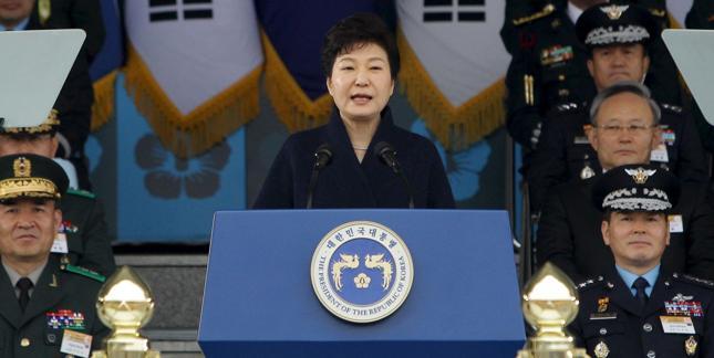 Prezydent Korei Południowej Park Geun Hie