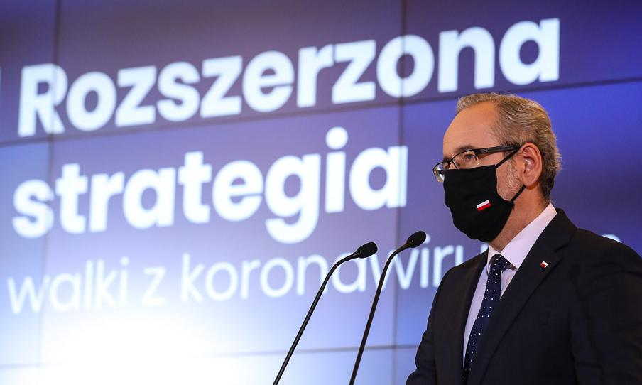 Minister zdrowia ogłosił nową strategię walki z pandemią