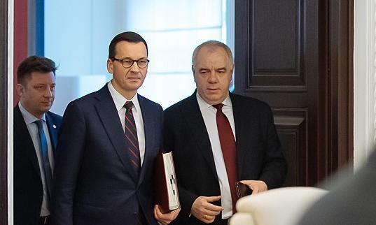 Sasin do przedsiębiorców: możecie być spokojni o wsparcie ze strony polskiego rządu