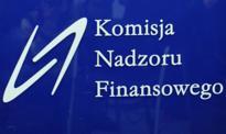 KNF żąda zawieszenia obrotu akcjami czterech spółek z powodu nieprzekazania raportów