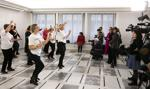 Kobiety zatańczyły w Senacie przeciwko przemocy